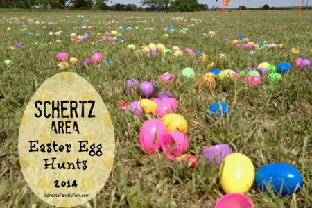 Schertz Easter Egg Hunt 2014
