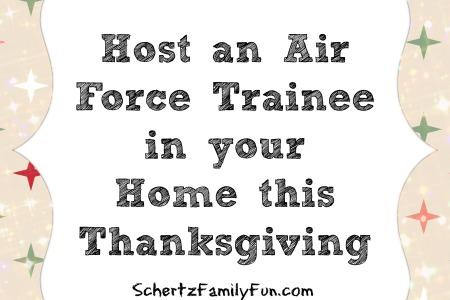 Host an Airman for Thanksgiving Schertz