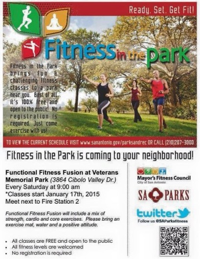 Fitness in the Park Cibolo